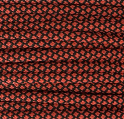 Neon Orange Diamonds Paracord Type III