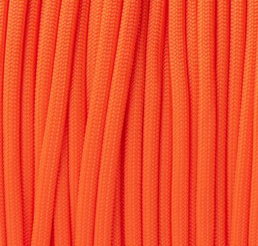Neon Orange Paracord Type III