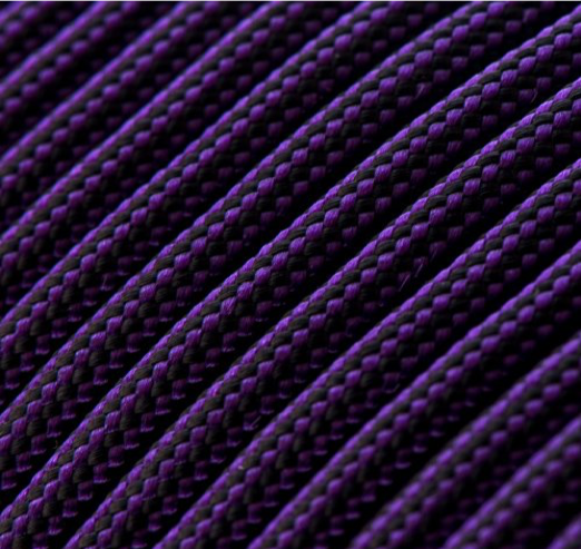 Acid Purple and Black Stripes