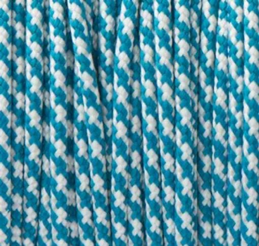 Caribbean Blue & White Spiral