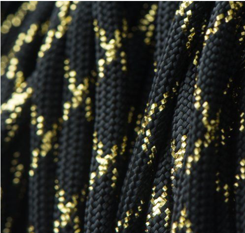 Metalic Glitter Black & Gold